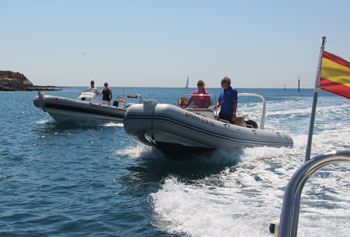 RYA Powerboat courses in Menorca